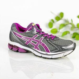 Asics Women GT-2170 Running Shoe Gray Hot Pink